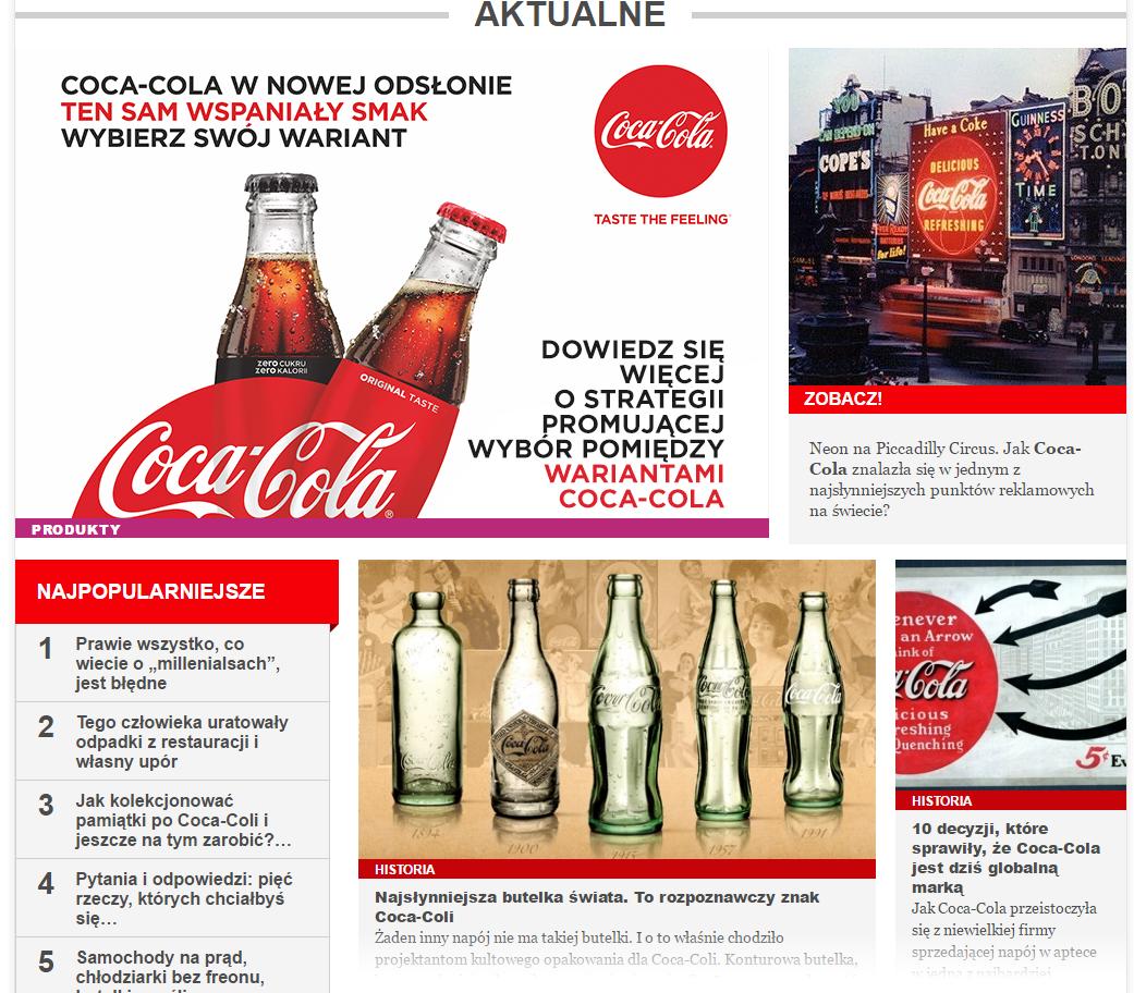 coca-cola portal newsy