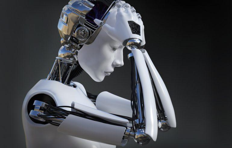 robot sztuczna inteligencja content