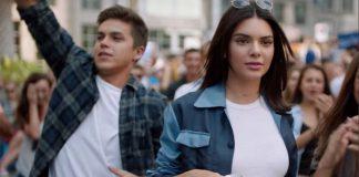 Jenner Kendall screen reklama pepsi