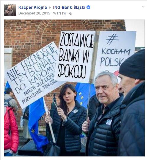 Marek Kondrat protest KOD public relations