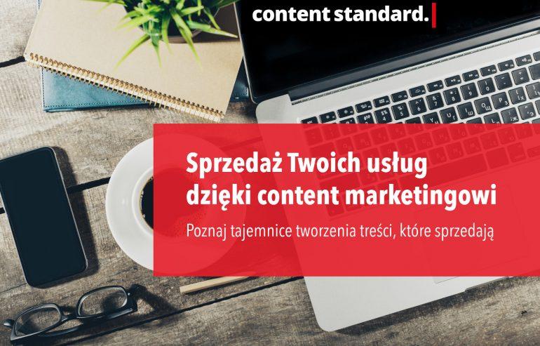Sprzedaż Twoich usługi dzięki content marketingowi