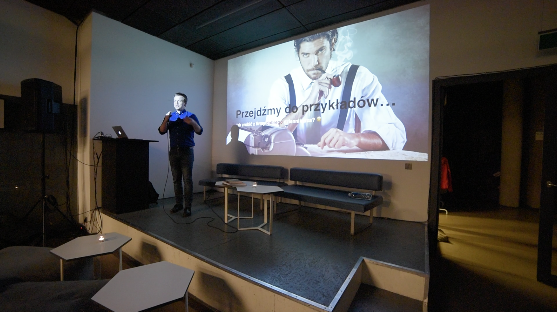 Grzegorz Miłkowski ContentHouse content marketing Crash Mondays Kraków