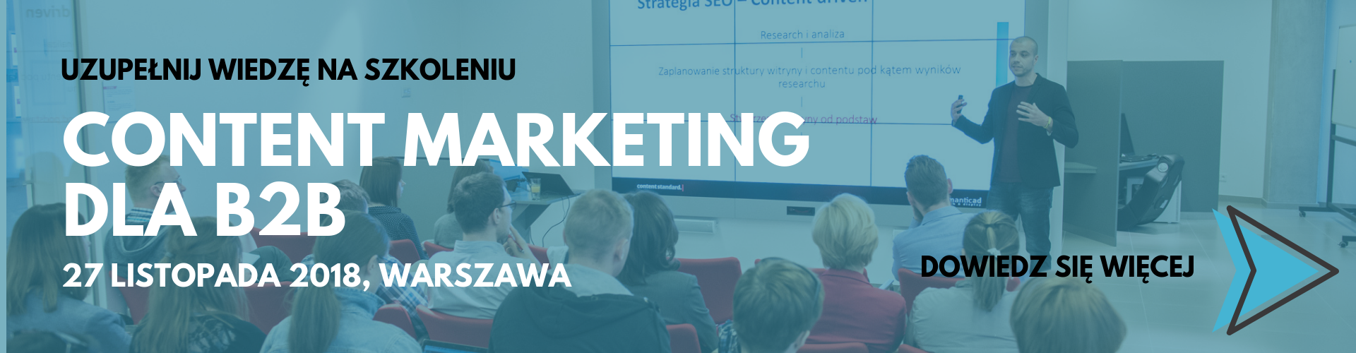 content marketing dla b2b szkolenie warszawa 27 listopada contenthouse_baner-2